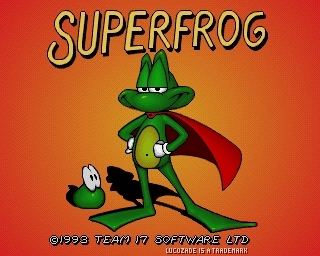 Super Frog - Amiga Intro