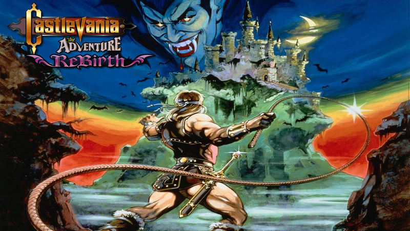 Kody do Castlevania: The Adventure ReBirth (Wii)