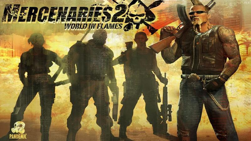 Kody do Mercenaries 2: World in Flames (PS3)