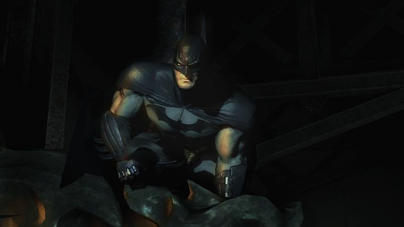 Mroczny... Mroczniejszy... Batman!