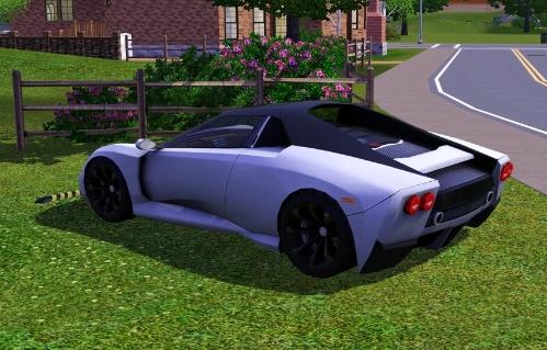 The Sims 3 (PC) - Samochód Montalcino Fandango SE