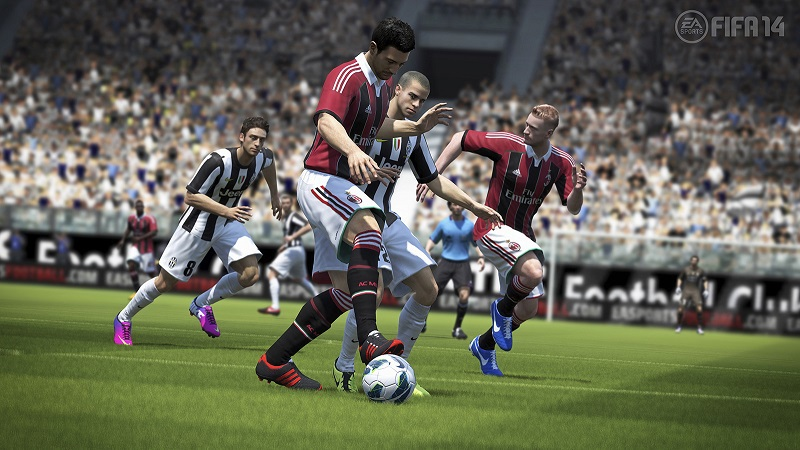 FIFA 14 - gameplay Barcelona vs Real - Video