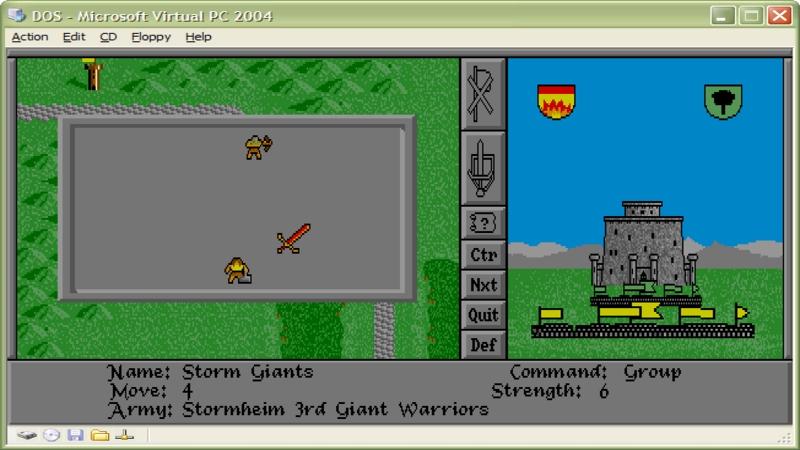 Warlords - Pełna wersja (DOS)