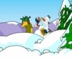 Simpsons wojna na śnieżki