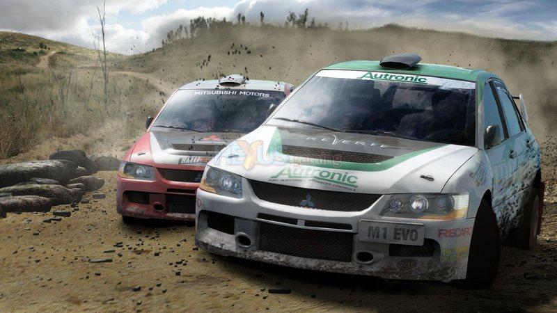 Colin McRae: DiRT 2 - gameplay prezentujący możliwości Dx 11