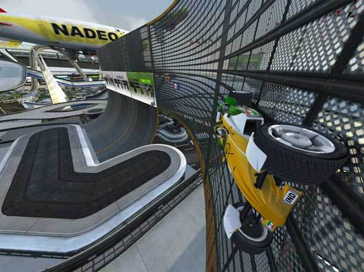 Trackmania Nations Forever - mix gameplay'ow