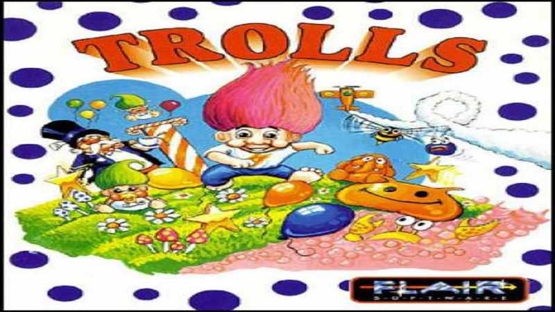 Trolls - gameplay (DOS)