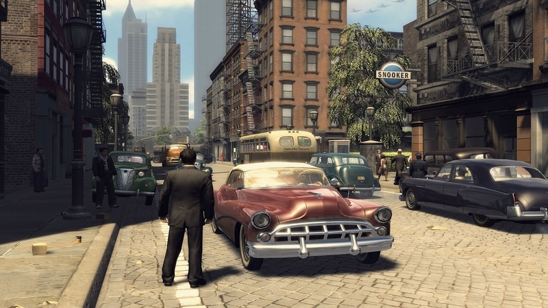Mafia II - beta  gameplay