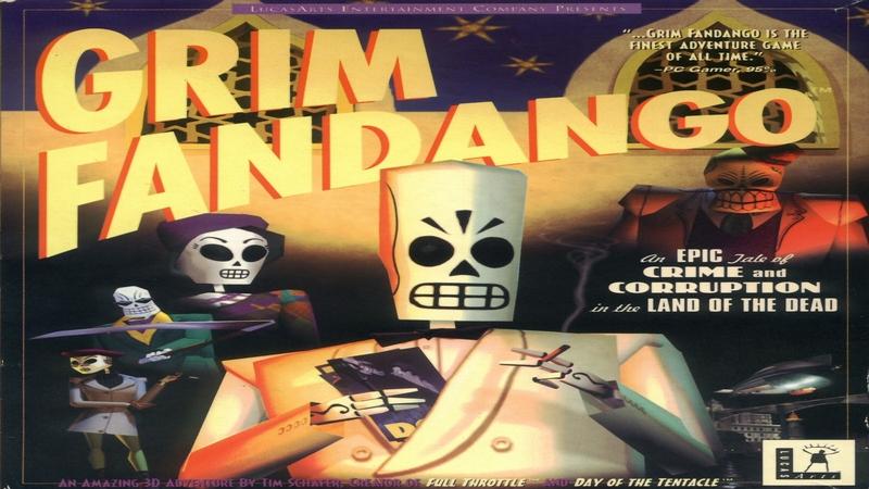 Grim Fandango - intro z gry