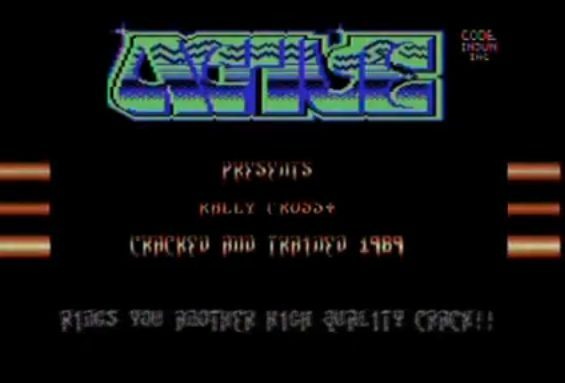 Crack intro - kolekcja z Commodore 64