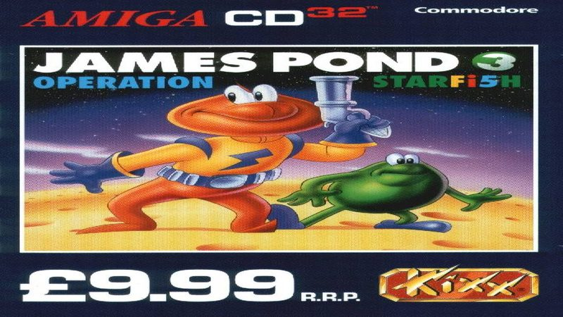 James Pond 3 - gameplay