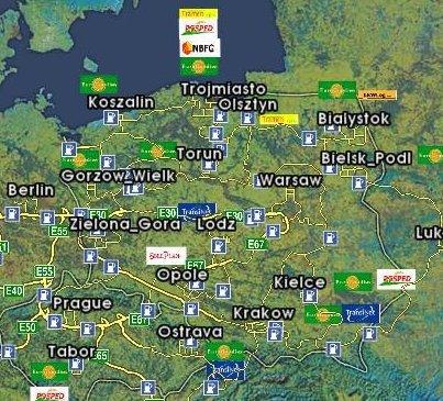 Euro Truck Simulator Pc Mapa Europy 0 1