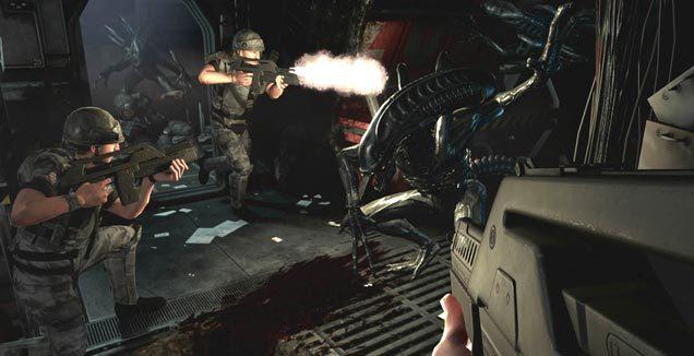 Aliens vs Predator -  trainer +5 (dla wersji DX 9)