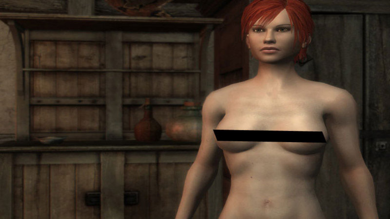 The Witcher – Nude Patch (naga łatka)