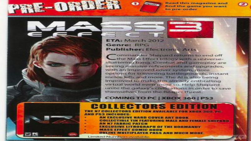 Tajemnicza funkcja w Mass Effect 3