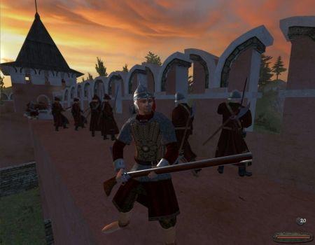 Mount & Blade: Ogniem i Mieczem - gameplay (walka)