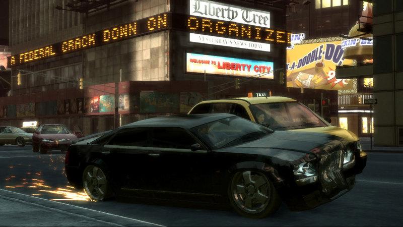 GTA IV - gameplay - składanka