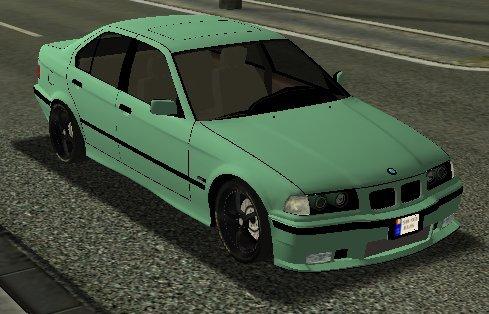 Euro Truck Simulator (PC) - Samochód BMW 320