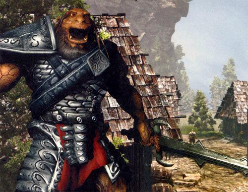 Gothic 3 - gameplay (walka na pustyni)