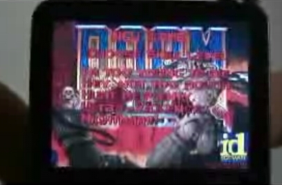 Doom II uruchomiony na... iPod!