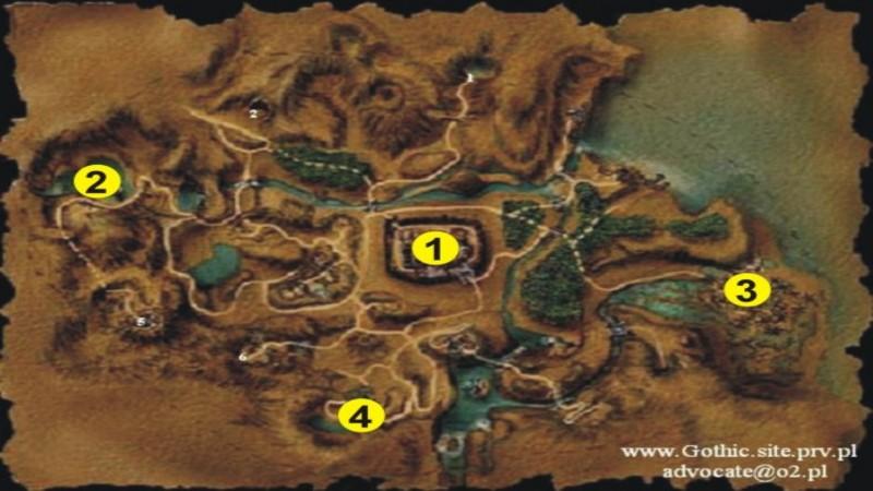 Warcraft 3 - prezentacja mapy świat Gothica !