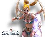 Sacred 2 - Gameplay z gry (Shadow Warrior)