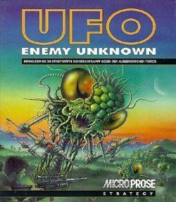 Ufo Enemy Unknown - intro z gry (DOS)