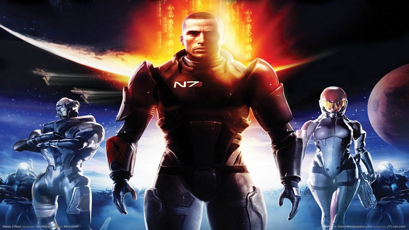 Mass Effect - Zwiastun (Gameplay)