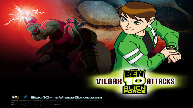 Kody do Ben 10: Alien Force - Vilgax Attacks (PS2)
