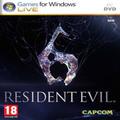 Resident Evil 6 (PC) kody
