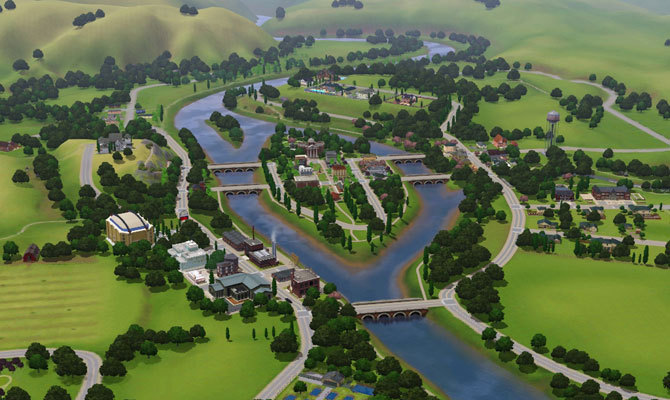 The Sims 3 (PC) - Miasteczko Riverview