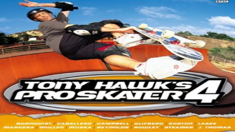 Tony Hawks Pro Skater 4 - gameplay