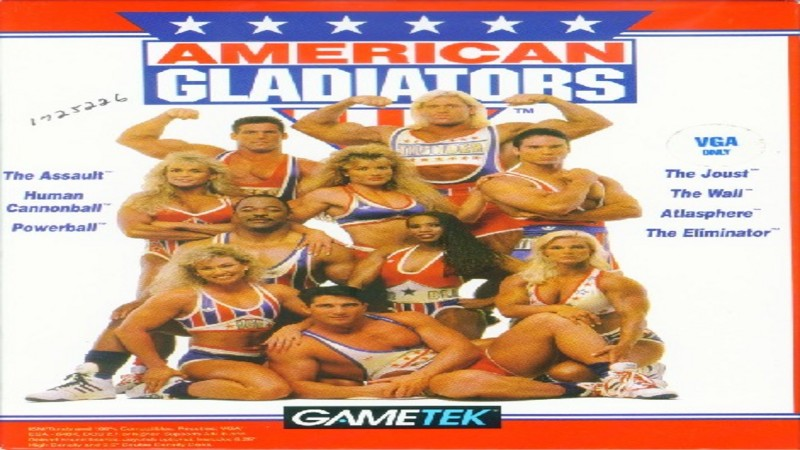American Gladiators - gameply (stare gry, DOS)