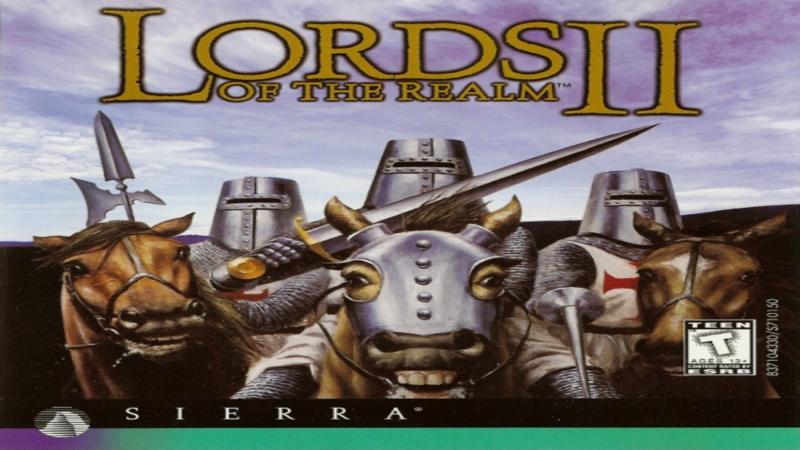 Lords of the Realm 2 - gameplay (szturm na zamek królewski)