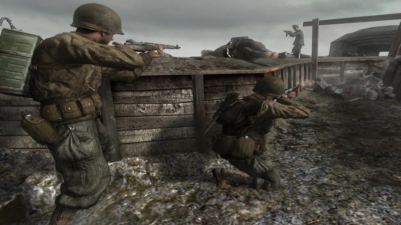 Call od Duty - gameplay (Stalingrad)