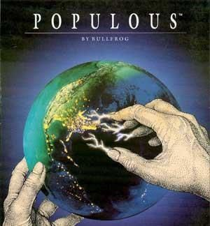 Populous - gameplay (DOS)