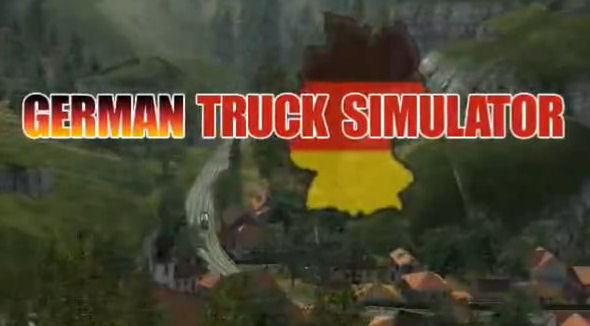 German Truck Simulator - Oficjalny Gameplay (Zarządzanie garażem)