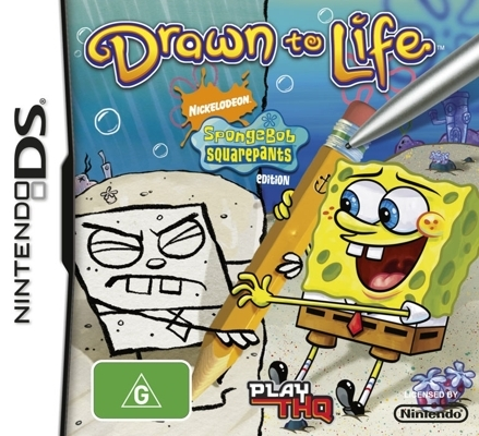 Kody do Drawn to Life: SpongeBob SquarePants Edition (NDS)