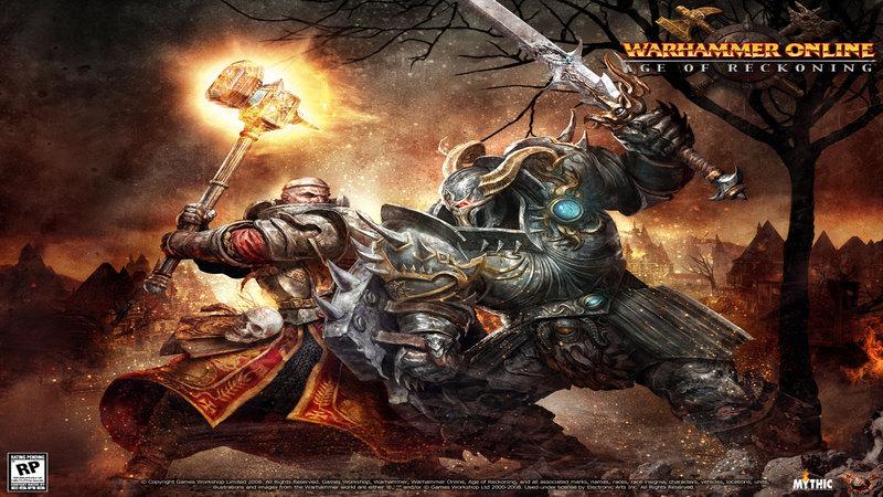 Warhammer online - gameplay (Massive RvR)