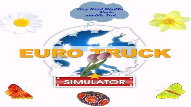 Euro Truck Simulator (PC) - Mapa Very Good Mix v8.7 (Zmodyfikowana)