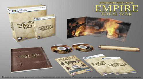 Specjalna edycja Empire: Total War dla kolekcjonerów!