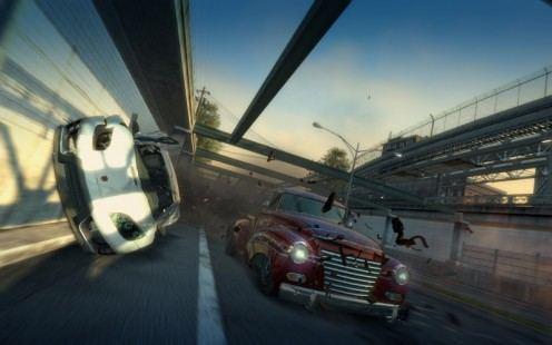 Burnout Paradise The Ultimate Box - prezentacja miasta i gameplay
